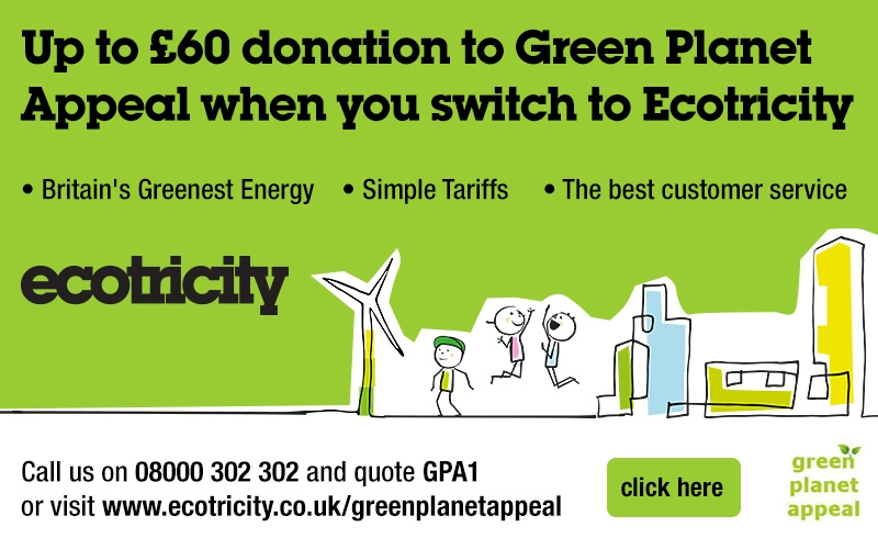 Green Planet Appeal Advert